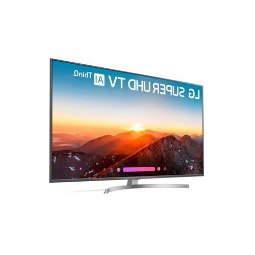 """LG 55"""" 2160p Ultra HD Smart TV - Clear"""