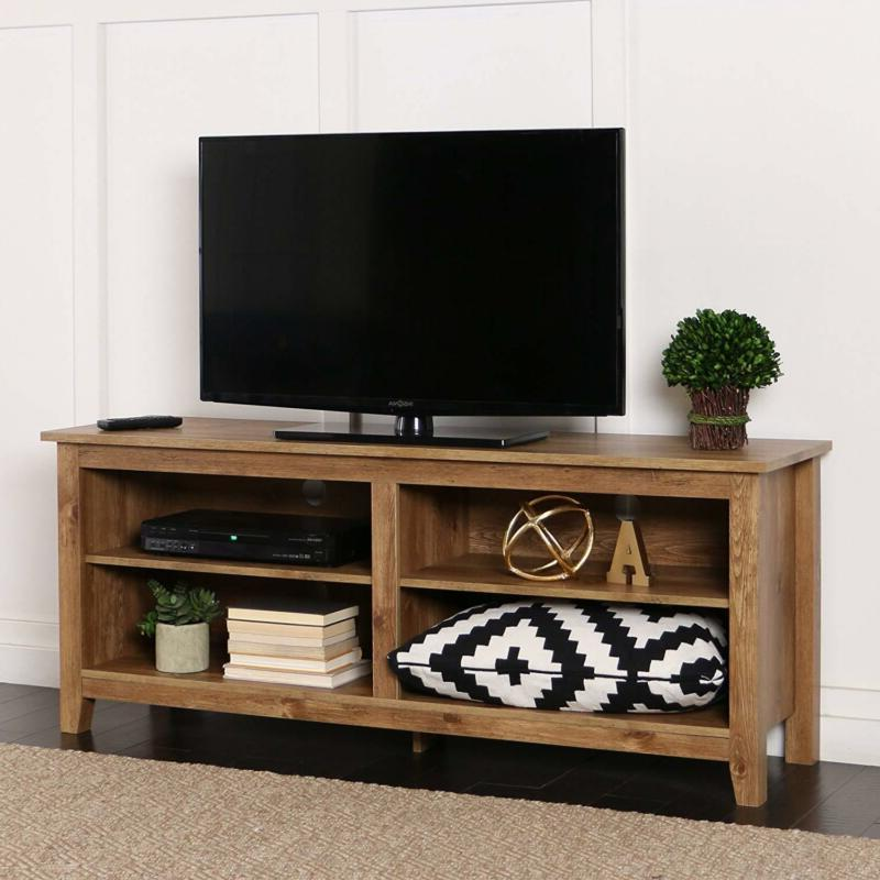 58 inch wide television tv stand console