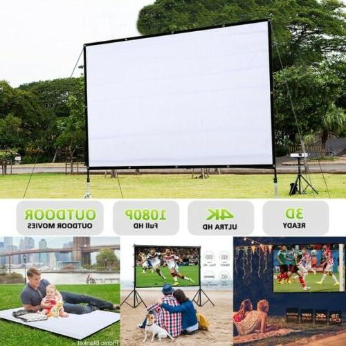 60-150 Projector Projection Screen