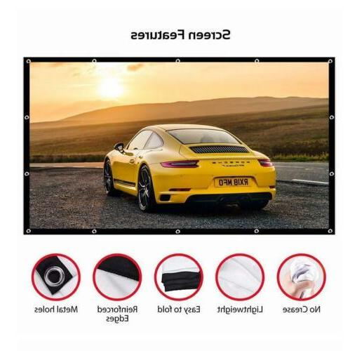 60-150 Inch Projector Projection Home Movie