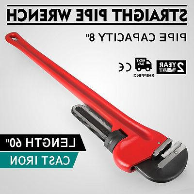 60 cast iron straight pipe wrench wrench