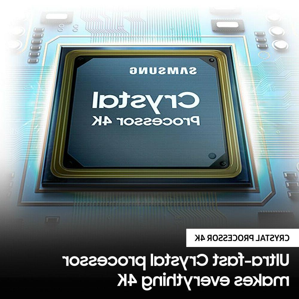Samsung LED Smart TV 7 Rate Crystal UHD