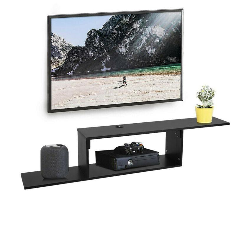 """New Furniture 60"""" Wall Mounted Console, 60inch, Black"""