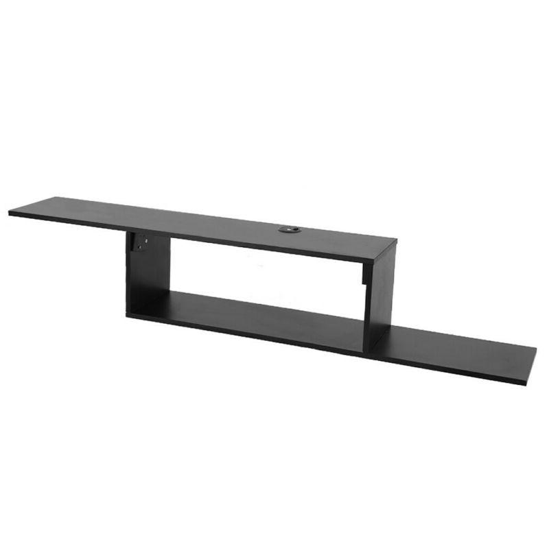 """New Furniture 60"""" Asymmetrical Wall 60inch, Black"""