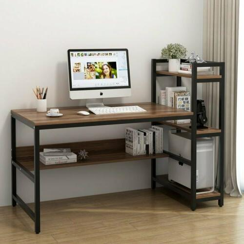 60 Desk with 4-Tier For Study