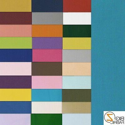 60 inch cotton polyester broadcloth fabric apparel