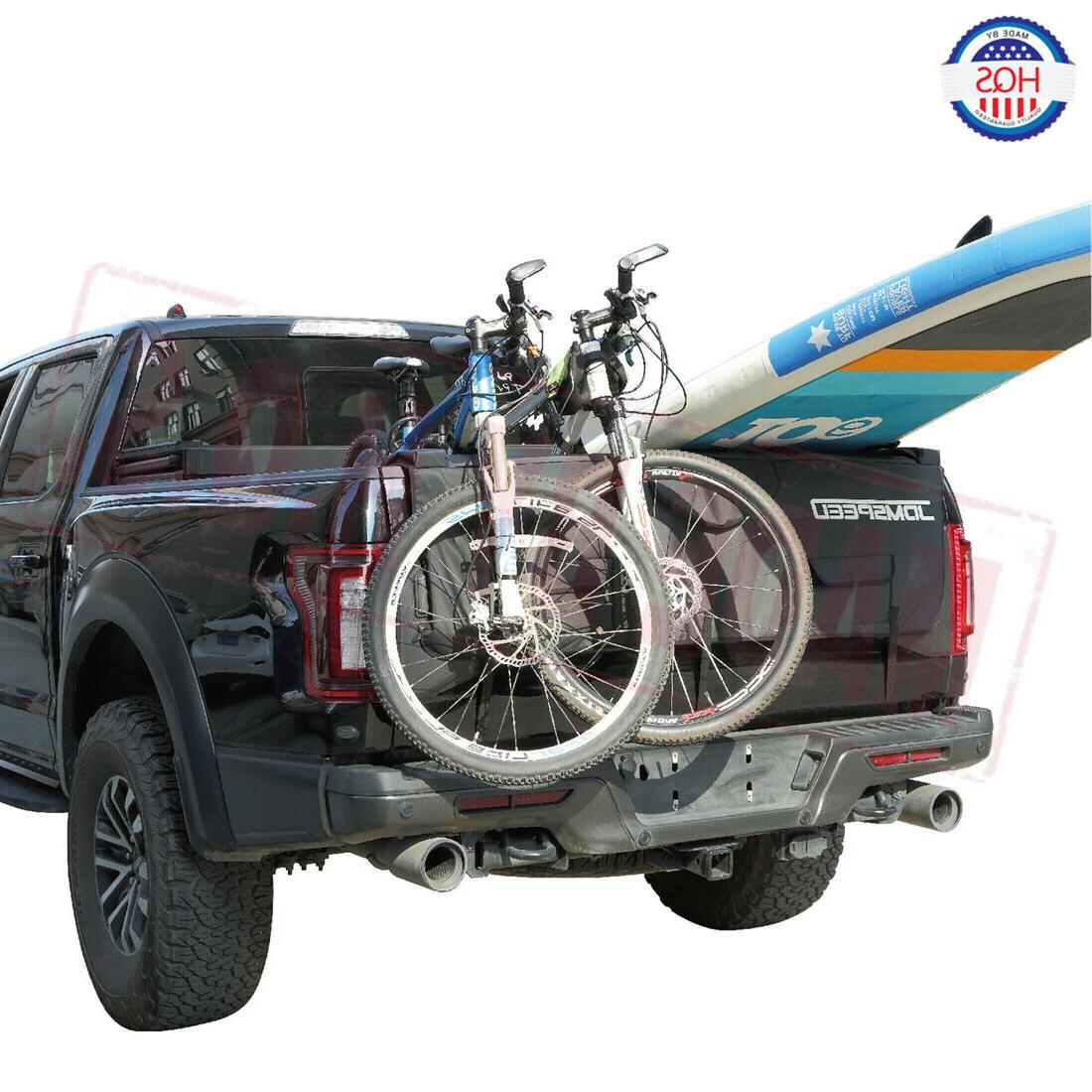 60 Inch Truck Tailgate Pad Black Surf Bike Bicycle Racks