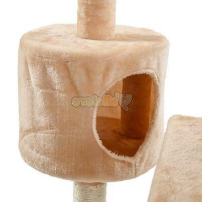 """60"""" Kitten Pet Tower Scratcher Furniture Tool"""