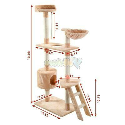 "60"" Kitten Pet House Tower Tool"