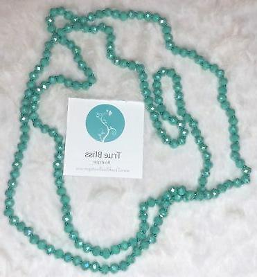 60 inch necklace in turquoise 3