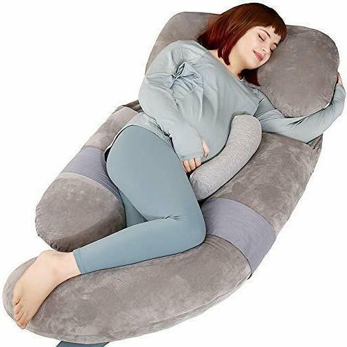 60 inch pregnancy pillow detachable u shaped