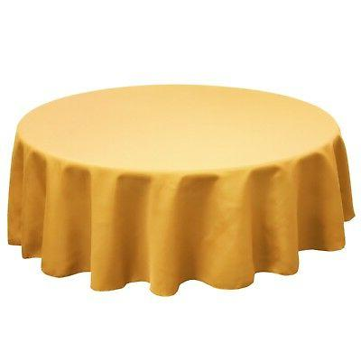 60 inch round simplypoly polyester tablecloth in