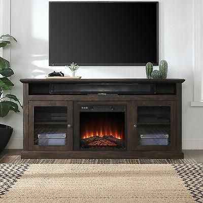 60 inch tv stand console with shelves