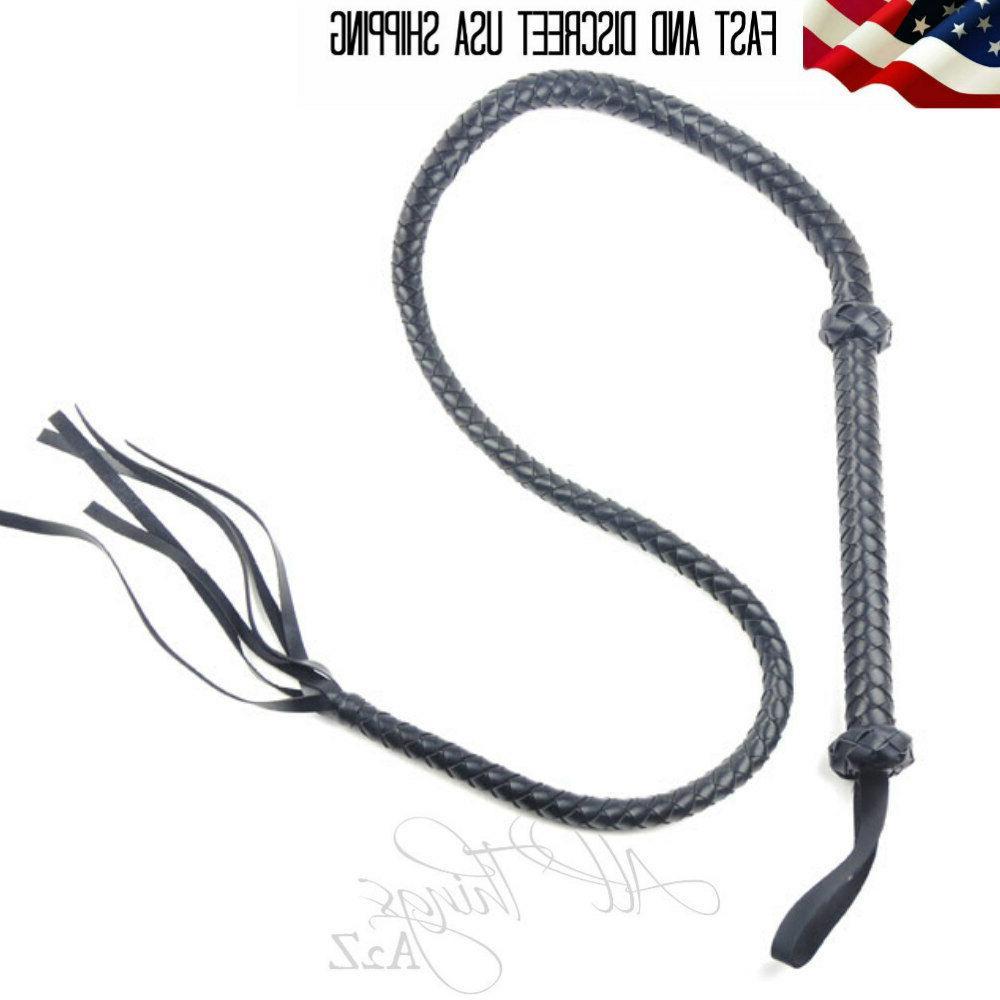 60 inch whip black bdsm bondage paddle