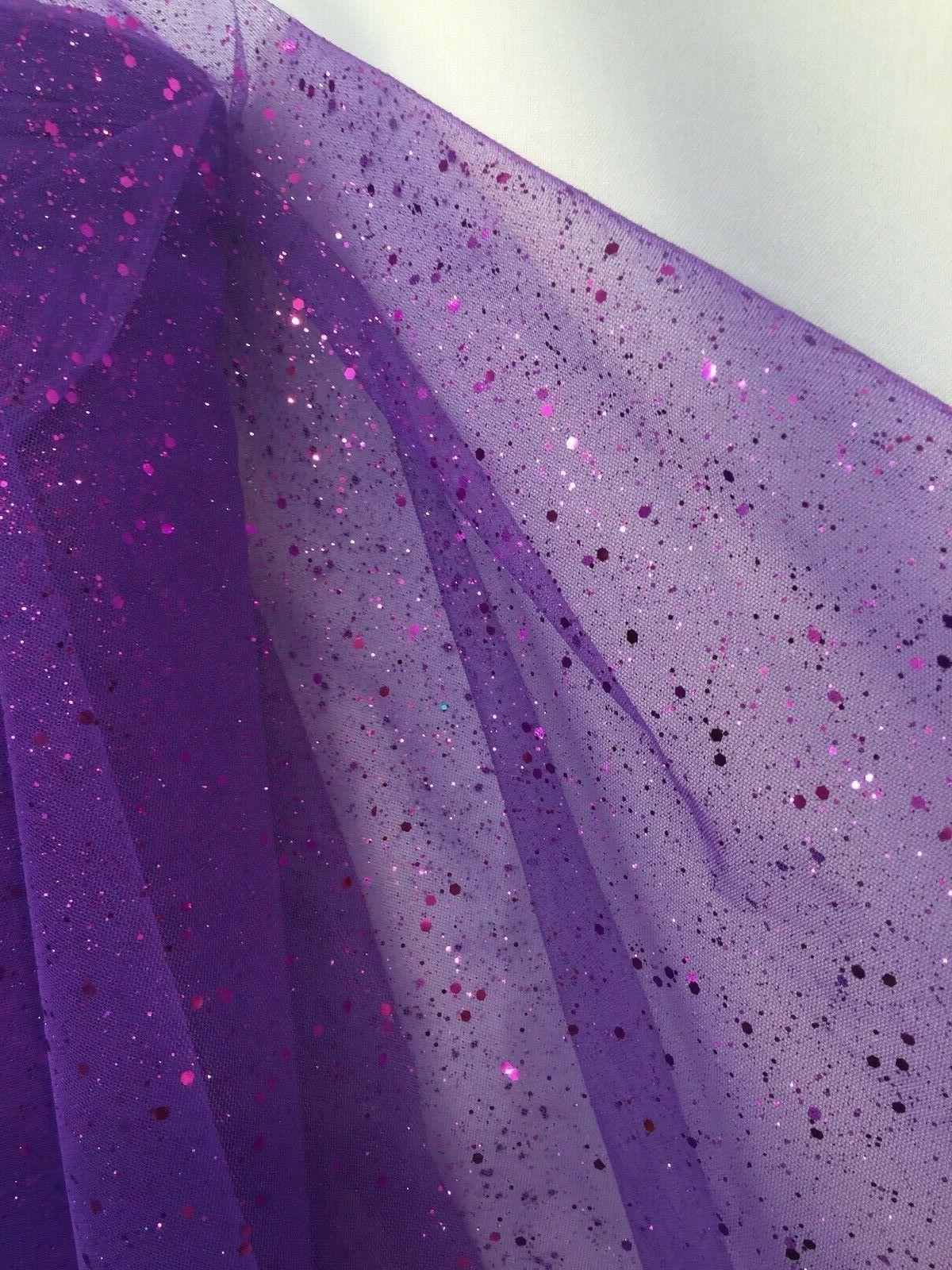 60 Inch wide Mesh Sequins by Yard Craft Decoration Wedding