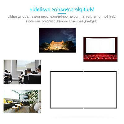 "60"" inch Portable Wall Foldable 16:9"