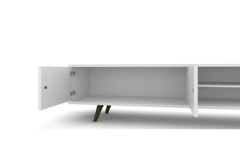 Walker Wooden TV Storage Console in White