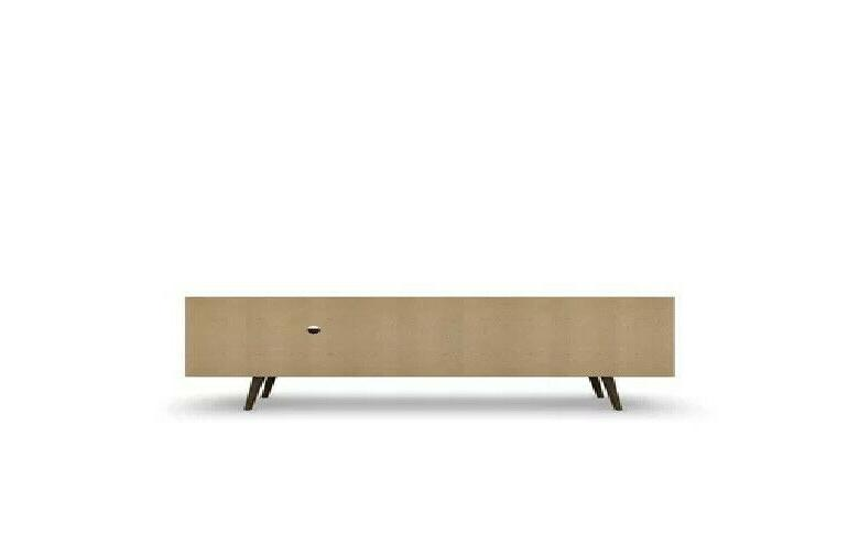 Walker Edison 60 Wooden TV Stand Console in White