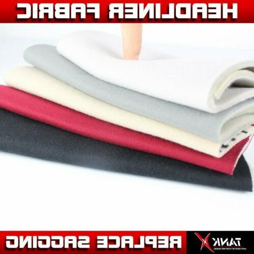 Headlining Fabric Foam Backing Upholstery 60inch Wide