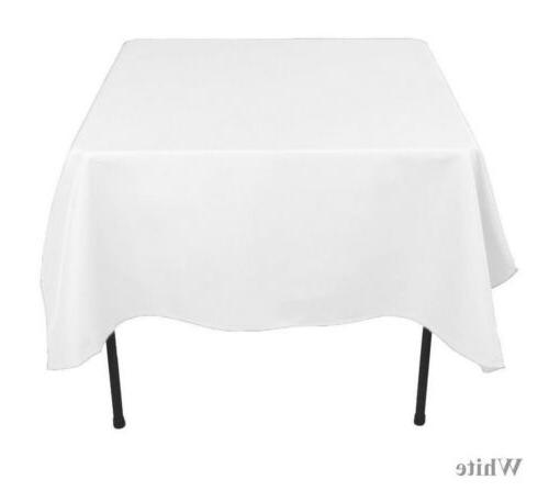 60 x 60 inch square overlay tablecloth