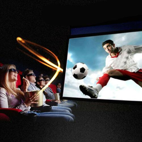 60inch Screen 16:9 HD Theater Outdoor 3D