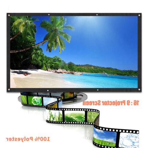 60inch Screen 16:9 HD Theater