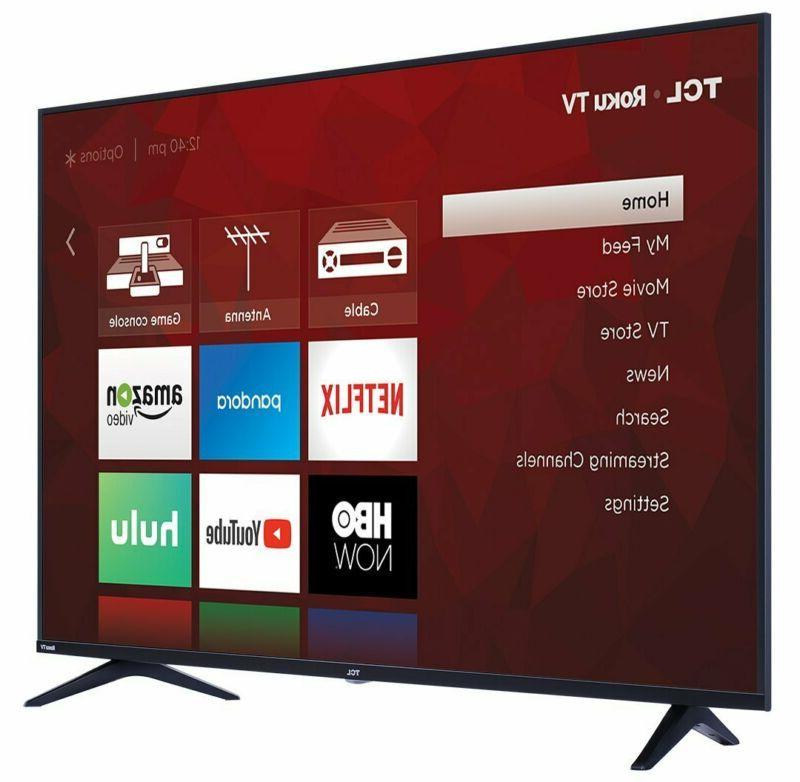 TCL 65S517 55-Inch Ultra HD Roku Slim LED TV