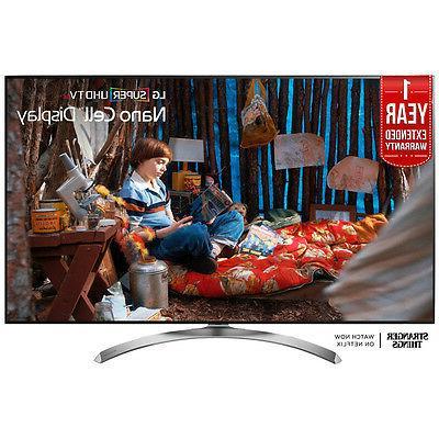 """LG 65SJ8500 65"""" Smart LED 4K HD TV SUHD HDR New 2017 Flat Sc"""