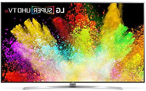 "LG 75SJ8570 75"" Flat Panel Screen Smart LED 4K Ultra HD TV w"