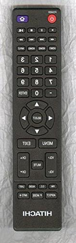 Hitachi 850125633 TV Remote Control