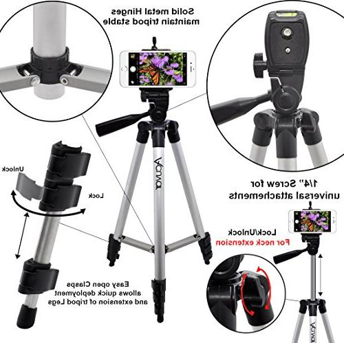 Acuvar Camera Tripod Smartphone Remote Control Camera for Smartphones