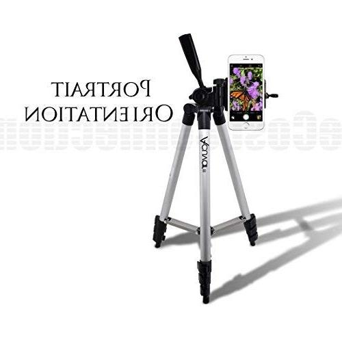 "Acuvar 50"" Camera Tripod Smartphone Mount and Wireless Remote Camera for All"