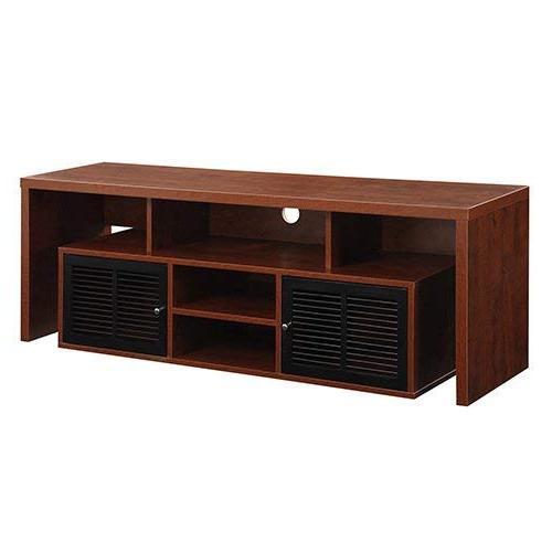 Convenience Designs2Go Lexington 60-Inch TV Stand, Cherry