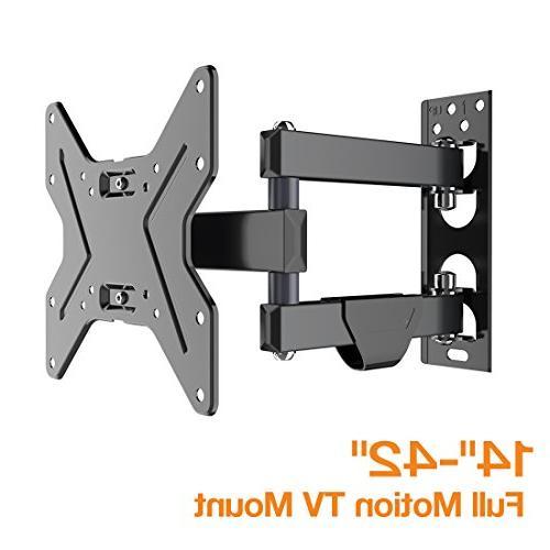 """FLEXIMOUNTS Bracket inch Full with 15.4"""" Arm Swivel Tilt for LCD HD Plasma"""