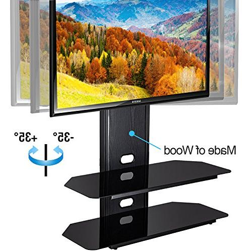 Fitueyes Tv Stand with Swivel 42-80 Inch Tvs/xbox One/tv Component