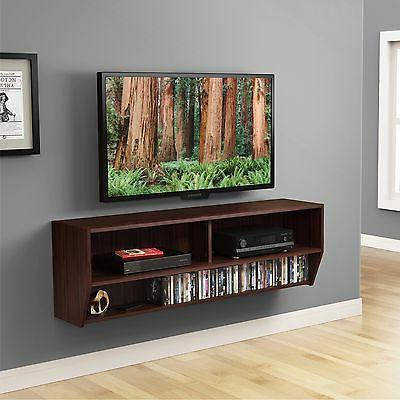 """Floating Media Shelf TV Stand AV Xbox one Display For 32""""-65"""