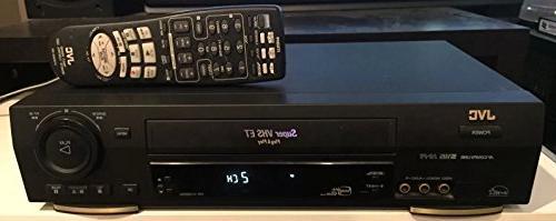 JVC HRS3800U 4-Head S-VHS VCR