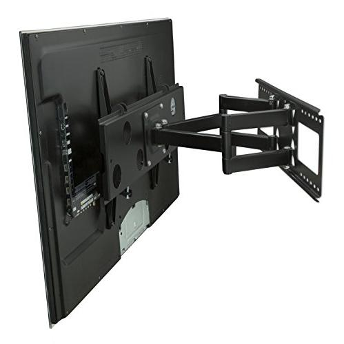 Mount-It! Full Motion Wall for 16'', 18'', 24'' studs, Fits LCD LED Plasma flat screen curved up to HDMI