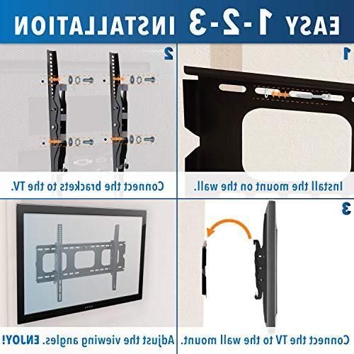Mount-It! Mount Bracket Sony TCL 32 42 55 60 VESA 400x400 600x400, 750x450 Premium 175
