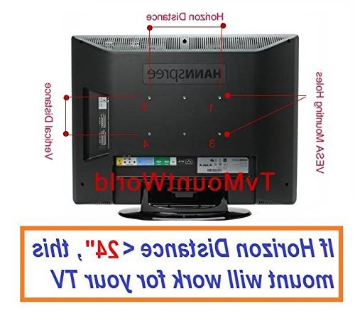 "Mount Tilt Wall Bracket 32""-60"" LCD VESA 400x400"