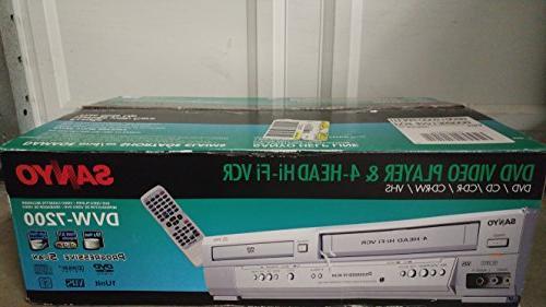 Sanyo DVD/VCR DVW-7200