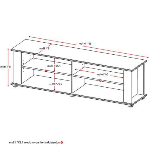 Sonax FS-3580 Fillmore TV Stand,