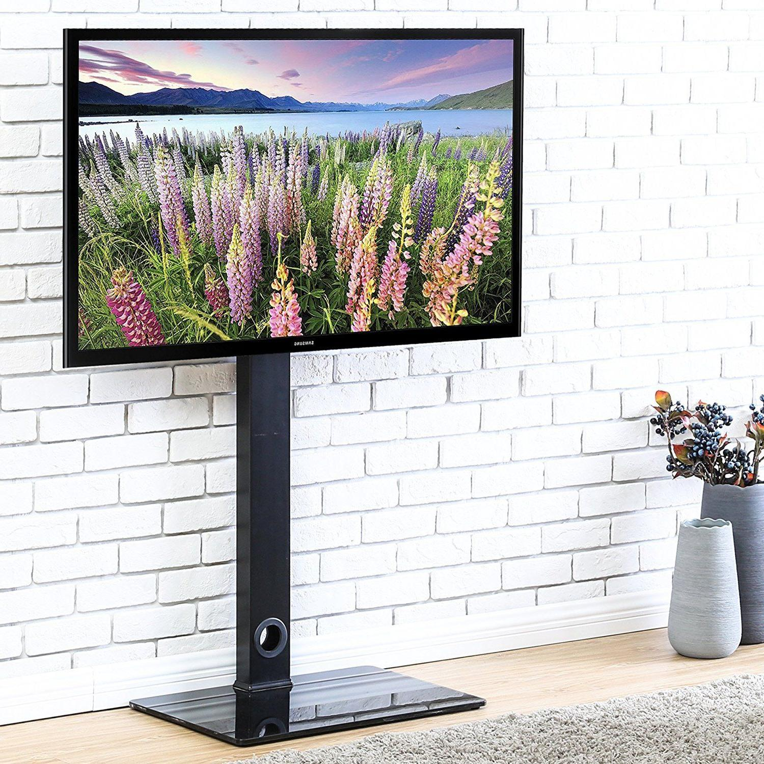 FITUEYES Universal TV Stand Base with Swivel Mount Height Ad