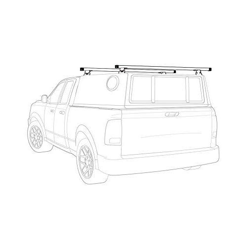 "Vantech Universal Pickup Topper M1000 Ladder rack w/ 60"" Bar"