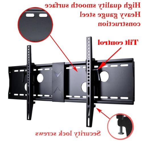 "VideoSecu TV Wall Mount for 40"" 46"" 52"" 55"" 60"" 63"" 65"" LCD LED 700x400mm 7 HDMI Cable Bubble Level MN4"