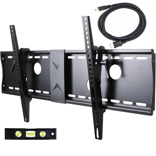 "VideoSecu Screen TV for 46"" 47"" 55"" 58"" 63"" 65"" 70"" LCD 700x400mm 7 HDMI Cable and Level MN4"
