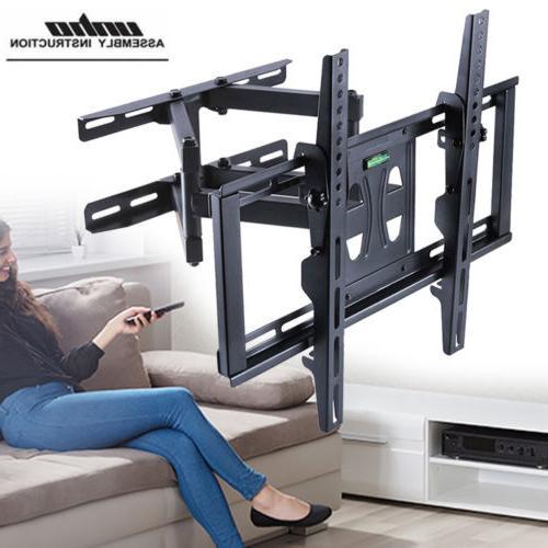 adjustable swivel long arm tv wall mount