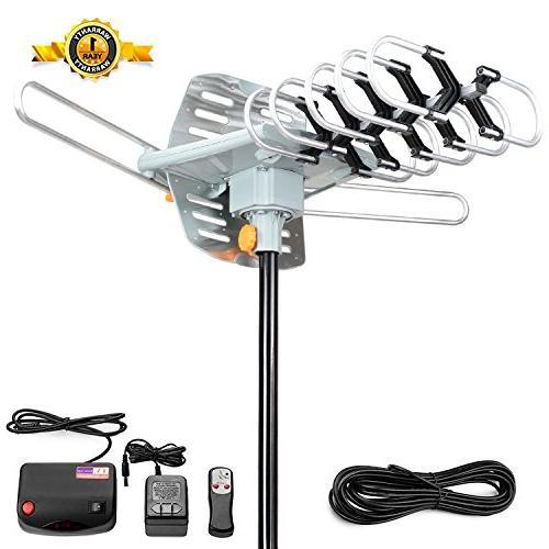 amplified hdtv antenna tv