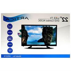 """ARTICA AR2218 22"""" inch Led TV with DVD player HD Combo Digit"""