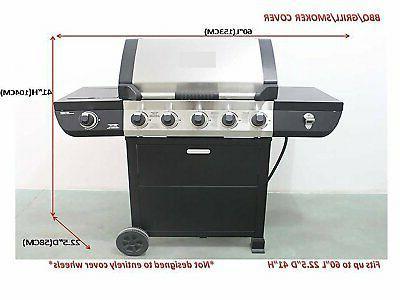 iCOVER Heavy-Duty BBQ Smoker Grill G21604